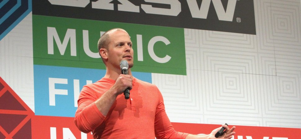 Tim Ferriss Begins His Most Chaotic Mornings with This 4-Word Mantra